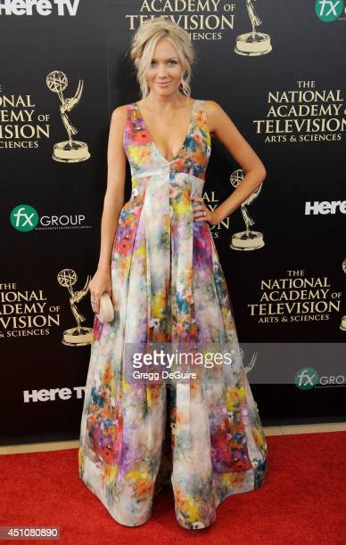 Actress Melissa Ordway arrives at the 41st Annual Daytime Emmy Awards at The Beverly Hilton Hotel on June 22 2014 in Beverly Hills California