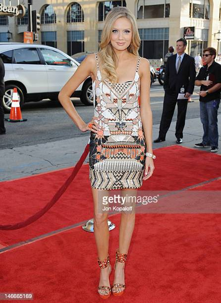 Actress Melissa Ordway arrives at the Los Angeles Premiere 'Ted' at Grauman's Chinese Theatre on June 21 2012 in Hollywood California