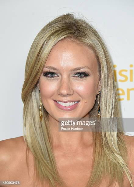 Actress Melissa Ordway attends Television Academy's Daytime Programming Peer Group's 41st Annual Daytime Emmy Nominees Celebration at The London West...