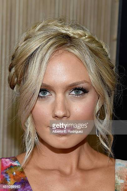 Actress Melissa Ordway attends The 41st Annual Daytime Emmy Awards at The Beverly Hilton Hotel on June 22 2014 in Beverly Hills California