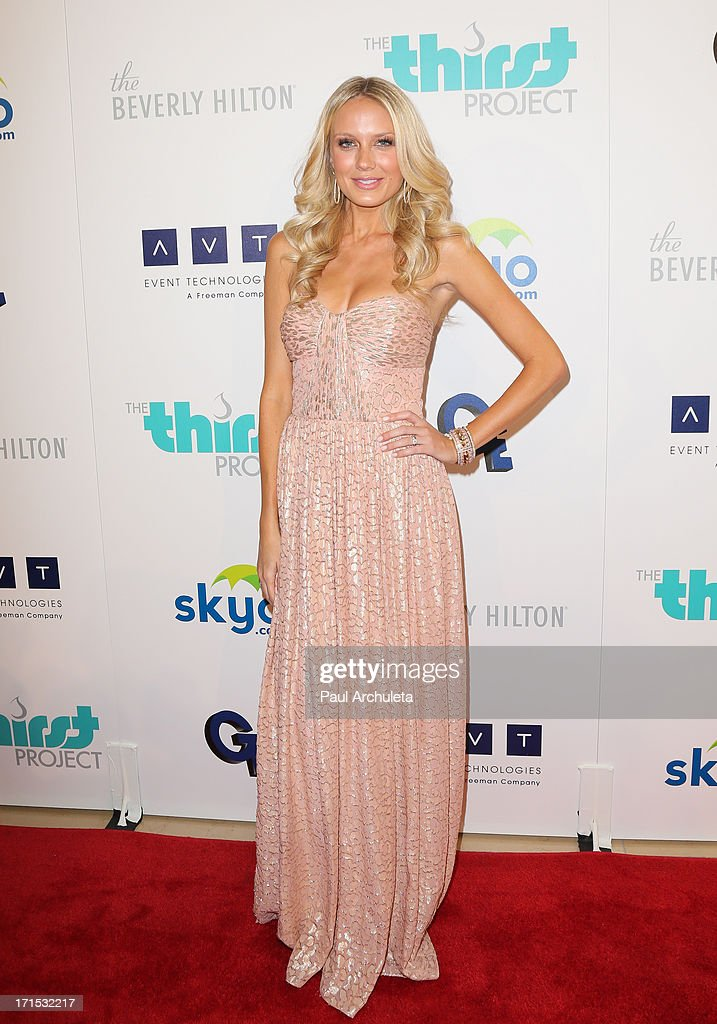 Actress Melissa Ordway attends the 4th annual Thirst Gala at The Beverly Hilton Hotel on June 25, 2013 in Beverly Hills, California.