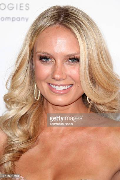 Actress Melissa Ordway attends the 4th annual Thirst Gala held at The Beverly Hilton Hotel on June 25 2013 in Beverly Hills California