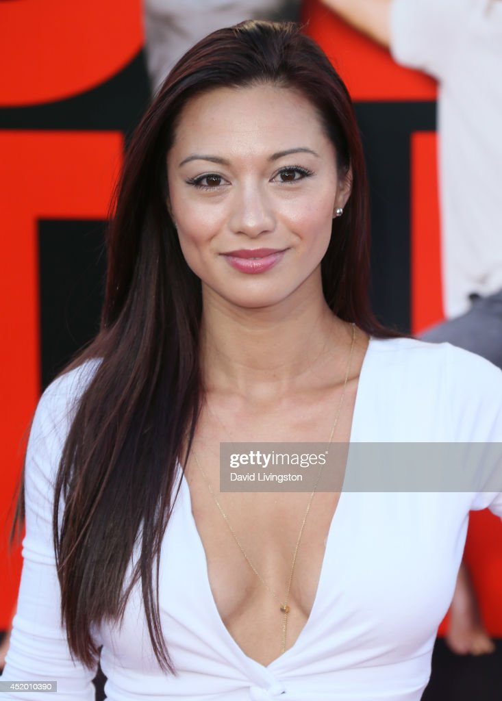 Actress Melissa Paulo attends the premiere of Columbia Pictures' 'Sex Tape' at the Regency Village Theatre on July 10, 2014 in Westwood, California.