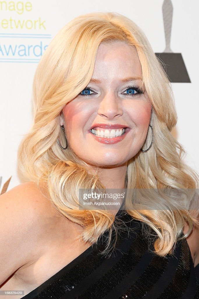Actress Melissa Peterman attends the 14th Annual Women's Image Network Awards at Paramount Theater on the Paramount Studios lot on December 12, 2012 in Hollywood, California.