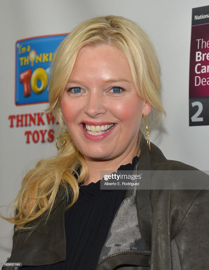 Actress <a gi-track='captionPersonalityLinkClicked' href=/galleries/search?phrase=Melissa+Peterman&family=editorial&specificpeople=2122550 ng-click='$event.stopPropagation()'>Melissa Peterman</a> attends The National Breast Cancer Coalition Fund presents The 13th Annual Les Girls at the Avalon on October 7, 2013 in Hollywood, California.