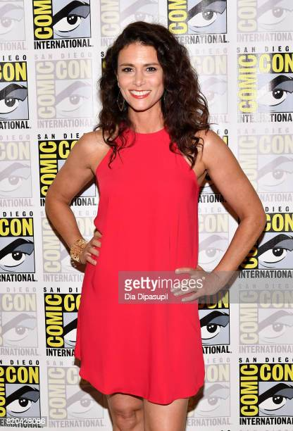 Actress Melissa Ponzio at the 'Teen Wolf' Press Line during ComicCon International 2017 at Hilton Bayfront on July 21 2017 in San Diego California