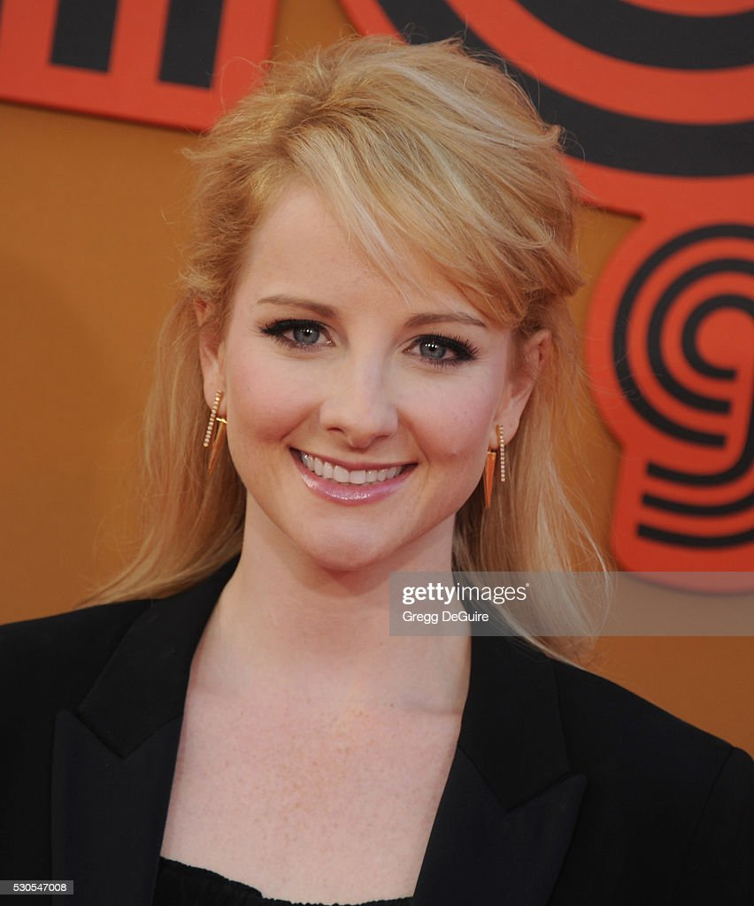 Actress Melissa Rauch arrives at the premiere of Warner Bros. Pictures' 'The Nice Guys' at TCL Chinese Theatre on May 10, 2016 in Hollywood, California.