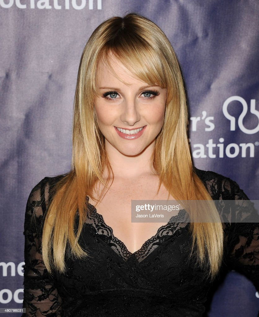 Actress Melissa Rauch attends the 22nd 'A Night At Sardi's' at The Beverly Hilton Hotel on March 26, 2014 in Beverly Hills, California.