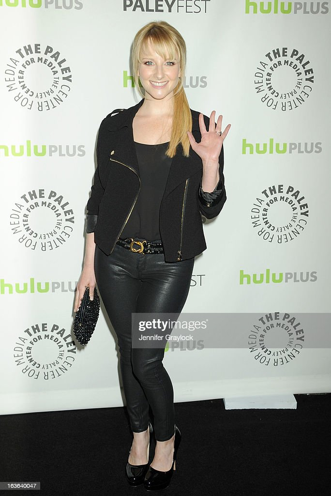 Actress Melissa Rauch attends the 30th Annual PaleyFest: The William S. Paley Television Festival honors The Big Bang Theory held at Saban Theatre on March 13, 2013 in Beverly Hills, California.