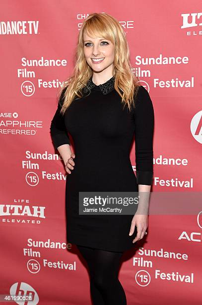 Actress Melissa Rauch attends 'The Bronze' Premiere at the Eccles Center Theatre during the 2015 Sundance Film Festival on January 22 2015 in Park...