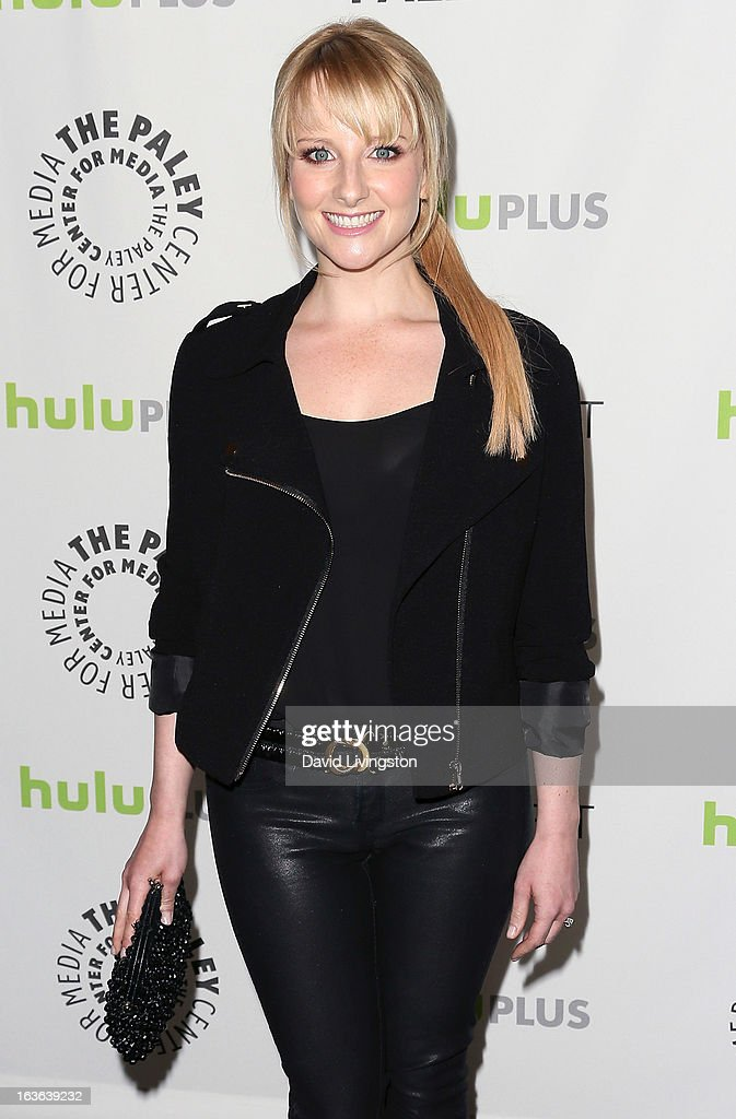Actress Melissa Rauch attends The Paley Center For Media's PaleyFest 2013 honoring 'The Big Bang Theory' at the Saban Theatre on March 13, 2013 in Beverly Hills, California.