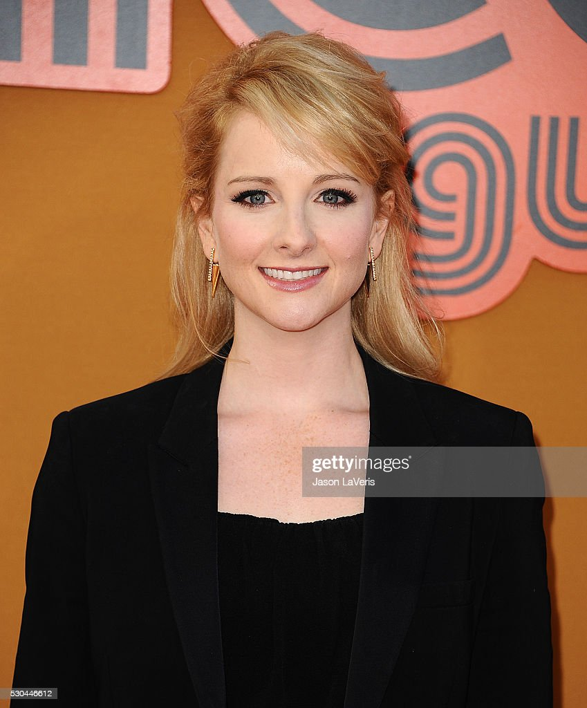 Actress Melissa Rauch attends the premiere of 'The Nice Guys' at TCL Chinese Theatre on May 10, 2016 in Hollywood, California.