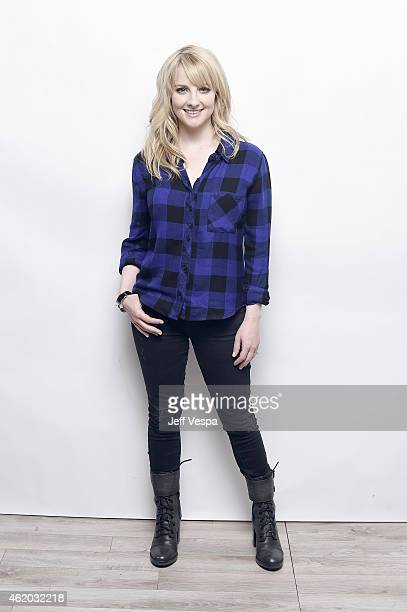 Actress Melissa Rauch from 'The Bronze' poses for a portrait at the Village at the Lift Presented by McDonald's McCafe during the 2015 Sundance Film...