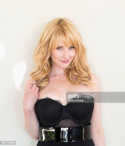 Actress Melissa Rauch is photographed for Fhm Uk on September 11 2014 in Los Angeles California