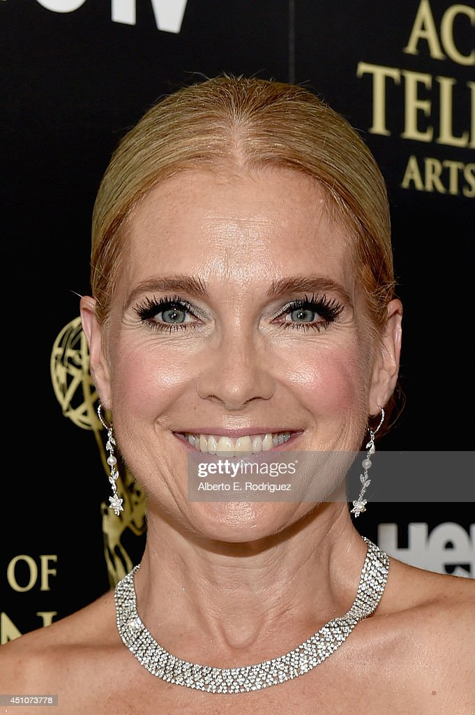 Actress Melissa Reeves attends The 41st Annual Daytime Emmy Awards at The Beverly Hilton Hotel on June 22 2014 in Beverly Hills California