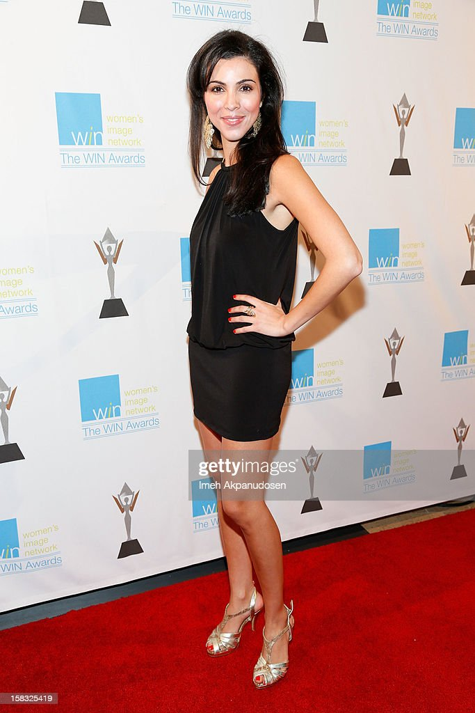 Actress Melissa Ricci attends the 14th Annual Women's Image Network Awards at Paramount Theater on the Paramount Studios lot on December 12, 2012 in Hollywood, California.