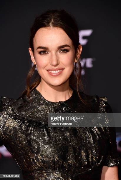 Actress MElizabeth Henstridge arrives at the Premiere Of Disney And Marvel's 'Thor Ragnarok' on October 10 2017 in Los Angeles California