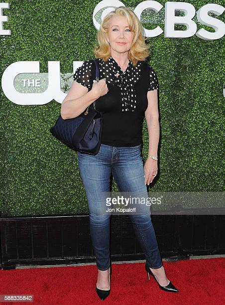 Actress Melody Thomas Scott arrives at CBS CW Showtime Summer TCA Party at Pacific Design Center on August 10 2016 in West Hollywood California