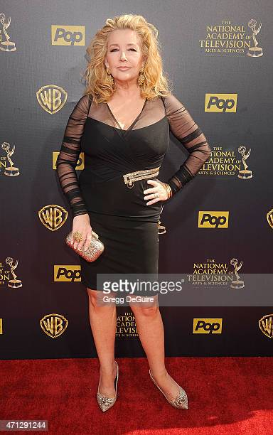 Actress ÛMelody Thomas Scott arrives at the 42nd Annual Daytime Emmy Awards at Warner Bros Studios on April 26 2015 in Burbank California