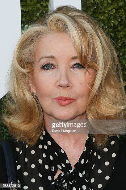 Actress Melody Thomas Scott arrives at the CBS CW Showtime Summer TCA Party at the Pacific Design Center on August 10 2016 in West Hollywood...