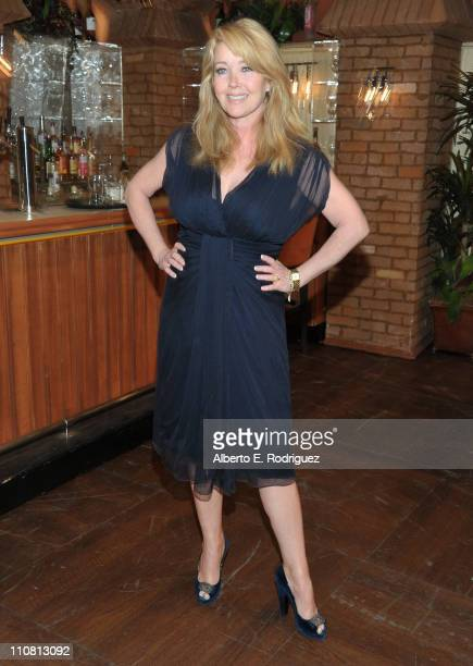 Actress Melody Thomas Scott attends CBS' 'Young and the Restless' 38th Anniversary cake cutting on March 24 2011 in Los Angeles California