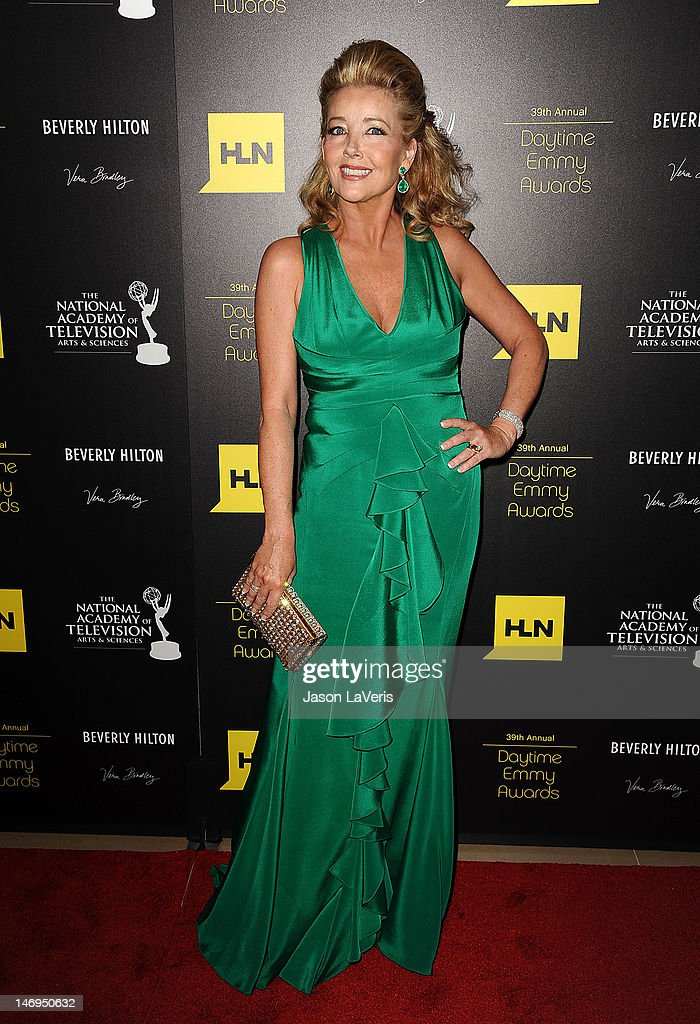 Actress Melody Thomas Scott attends the 39th annual Daytime Emmy Awards at The Beverly Hilton Hotel on June 23, 2012 in Beverly Hills, California.