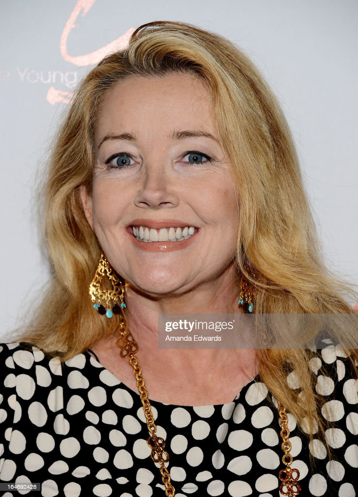 Actress <a gi-track='captionPersonalityLinkClicked' href=/galleries/search?phrase=Melody+Thomas+Scott&family=editorial&specificpeople=206955 ng-click='$event.stopPropagation()'>Melody Thomas Scott</a> attends the 'The Young & The Restless' 40th anniversary cake-cutting ceremony at CBS Television City on March 26, 2013 in Los Angeles, California.