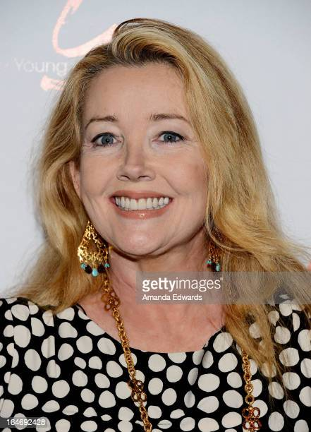 Actress Melody Thomas Scott attends the 'The Young The Restless' 40th anniversary cakecutting ceremony at CBS Television City on March 26 2013 in Los...