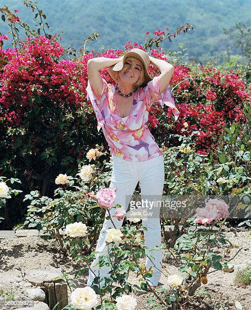Actress Melody Thomas Scott is photographed in 2003 at home in Los Angeles California
