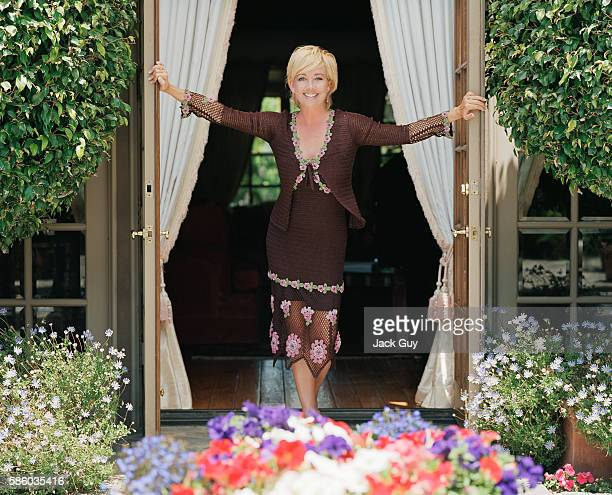 Actress Melody Thomas Scott is photographed in 2003 at home in Los Angeles California PUBLISHED IMAGE