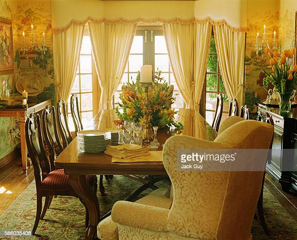 Actress Melody Thomas Scott's home is photographed in 2003 in Los Angeles California PUBLISHED IMAGE