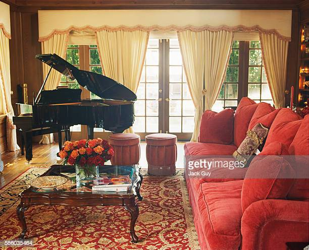 Actress Melody Thomas Scott's home is photographed in 2003 in Los Angeles California