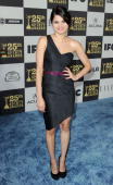 Actress Melonie Diaz arrives at the 25th Film Independent's Spirit Awards held at Nokia Event Deck at LA Live on March 5 2010 in Los Angeles...