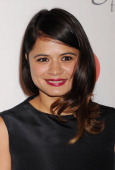 Actress Melonie Diaz arrives at the Eva Longoria Foundation Dinner at Beso restaurant on September 28 2013 in Hollywood California