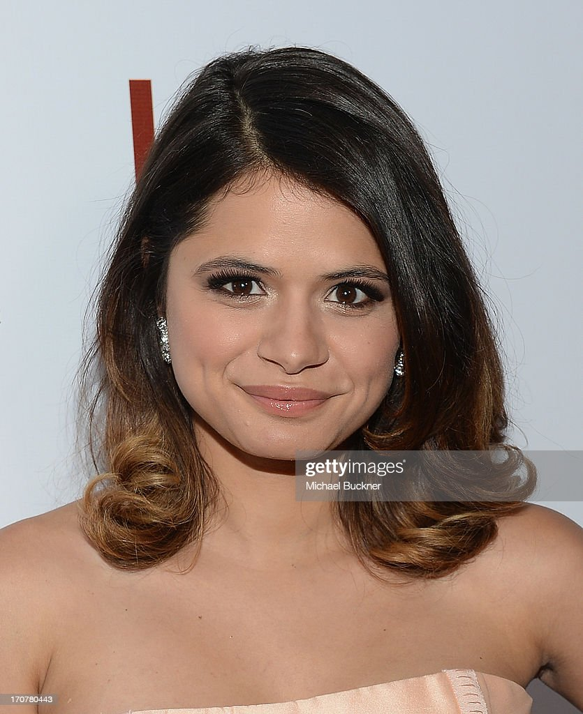 Actress <a gi-track='captionPersonalityLinkClicked' href=/galleries/search?phrase=Melonie+Diaz&family=editorial&specificpeople=3323742 ng-click='$event.stopPropagation()'>Melonie Diaz</a> arrives at the premiere of The Weinstein Company's 'Fruitvale Station' at Regal Cinemas L.A. Live on June 17, 2013 in Los Angeles, California.