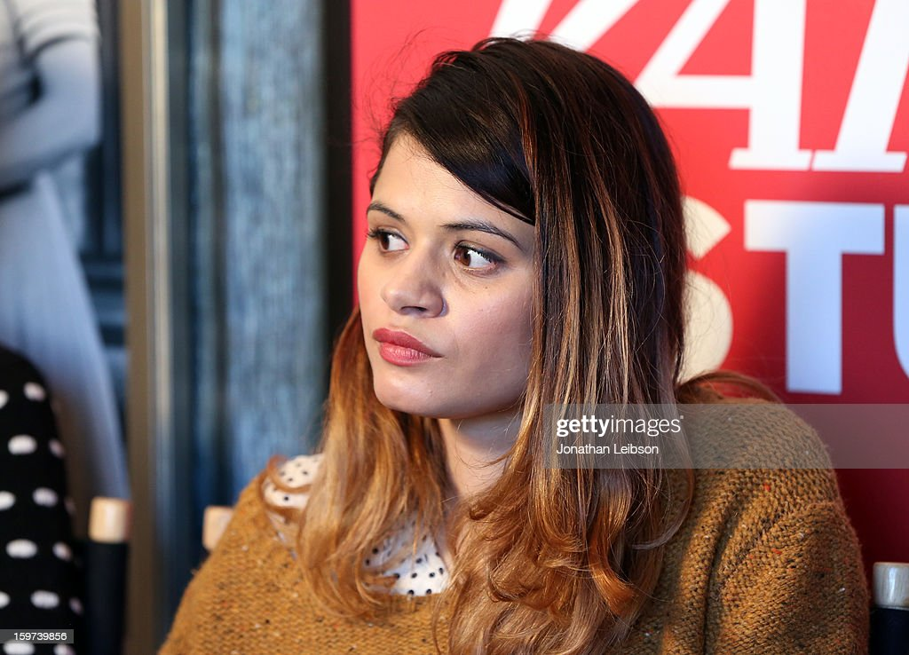Actress Melonie Diaz attends Day 1 of the Variety Studio at 2013 Sundance Film Festival on January 19, 2013 in Park City, Utah.