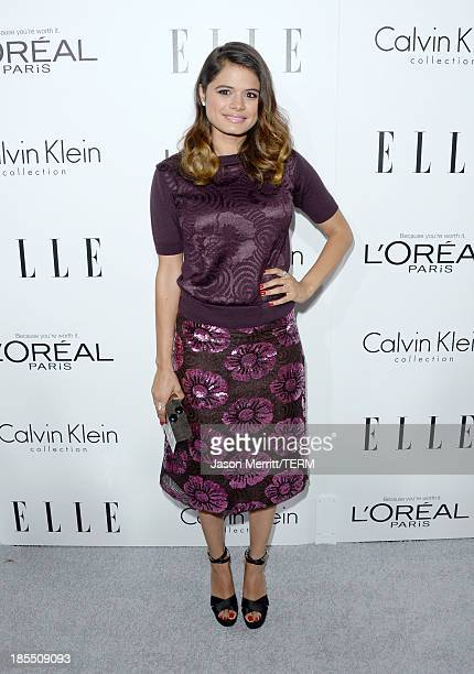 Actress Melonie Diaz attends ELLE's 20th Annual Women In Hollywood Celebration at Four Seasons Hotel Los Angeles at Beverly Hills on October 21 2013...
