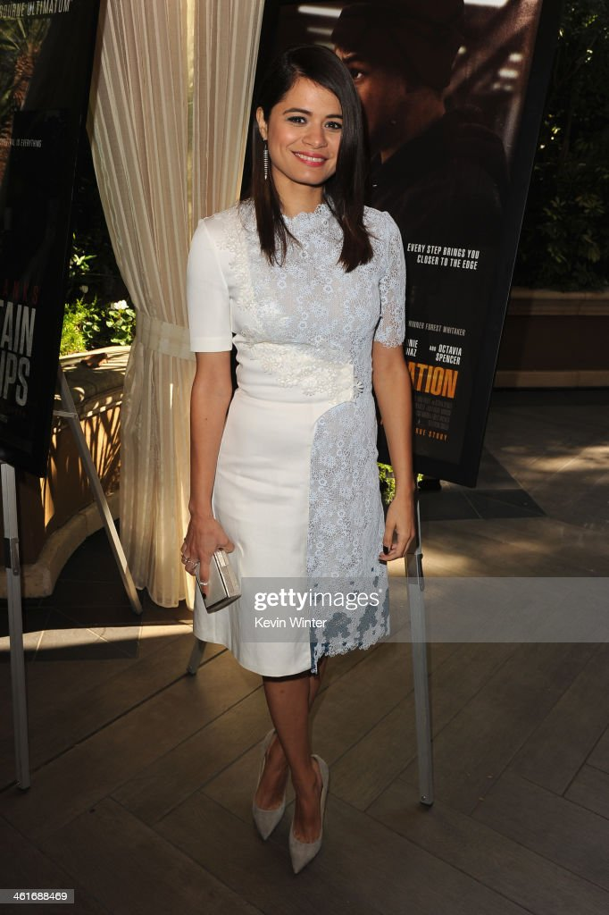 Actress <a gi-track='captionPersonalityLinkClicked' href=/galleries/search?phrase=Melonie+Diaz&family=editorial&specificpeople=3323742 ng-click='$event.stopPropagation()'>Melonie Diaz</a> attends the 14th annual AFI Awards Luncheon at the Four Seasons Hotel Beverly Hills on January 10, 2014 in Beverly Hills, California.