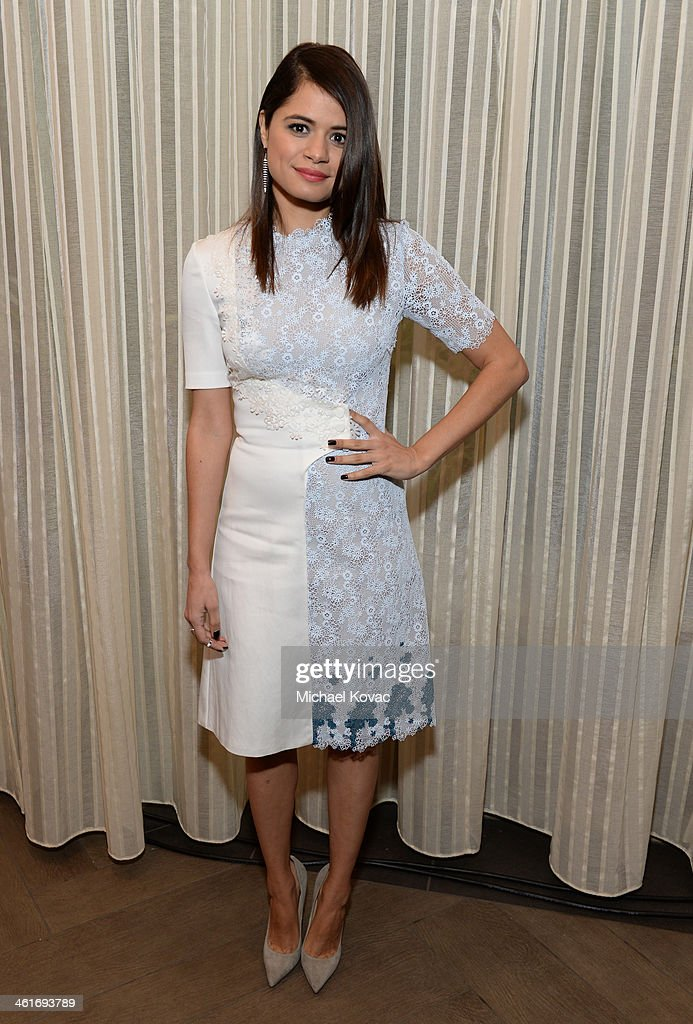 Actress Melonie Diaz attends the 14th annual AFI Awards Luncheon at the Four Seasons Hotel Beverly Hills on January 10, 2014 in Beverly Hills, California.