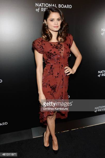 Actress Melonie Diaz attends the 2014 National Board Of Review Awards Gala at Cipriani 42nd Street on January 7 2014 in New York City