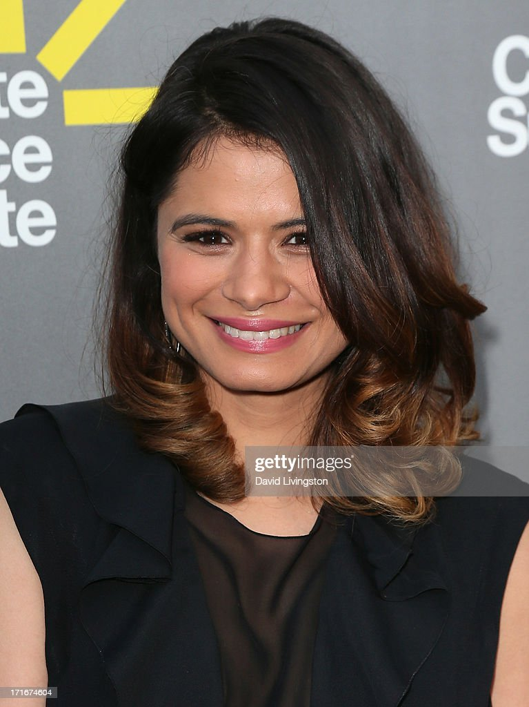 Actress <a gi-track='captionPersonalityLinkClicked' href=/galleries/search?phrase=Melonie+Diaz&family=editorial&specificpeople=3323742 ng-click='$event.stopPropagation()'>Melonie Diaz</a> attends the 3rd Annual Celebrate Sundance Institute Los Angeles Benefit at The Lot on June 5, 2013 in West Hollywood, California.
