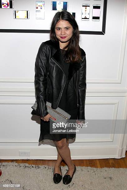 Actress Melonie Diaz attends The Art Of Elysium's 2015 HEAVEN PreEvent Dinner presented by Samsung Galaxy on November 16 2014 in Los Angeles...