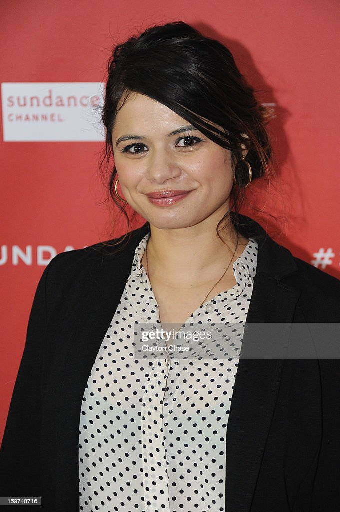 Actress Melonie Diaz attends the 'Fruitvale' premiere at The Marc Theatre during the 2013 Sundance Film Festival on January 19, 2013 in Park City, Utah.