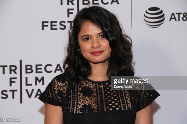 Actress Melonie Diaz attends Tribeca TV Pilot Season 'Lost and Found' showing during the 2017 Tribeca Film Festival at Cinepolis Chelsea on April 23...