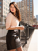Actress Melonie Diaz is photographed for Vanity Fair Italy on April 23 2014 in New York City