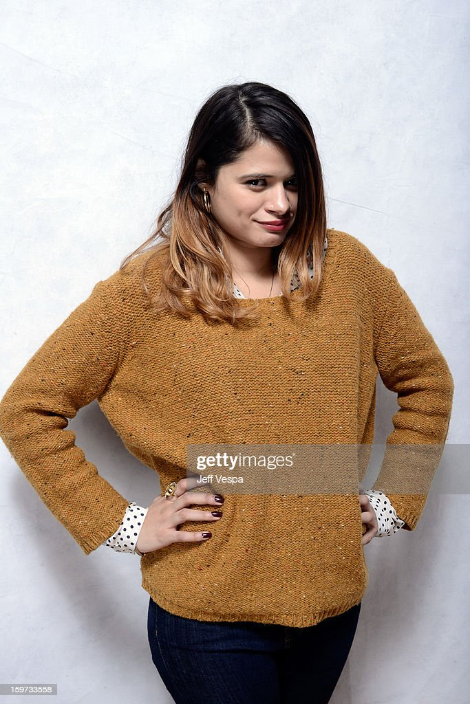 Actress <a gi-track='captionPersonalityLinkClicked' href=/galleries/search?phrase=Melonie+Diaz&family=editorial&specificpeople=3323742 ng-click='$event.stopPropagation()'>Melonie Diaz</a> poses for a portrait during the 2013 Sundance Film Festival at the WireImage Portrait Studio at Village At The Lift on January 19, 2013 in Park City, Utah.