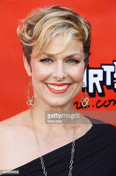 Actress Melora Hardin arrives at Pasadena Playhouse opening night for 'Kiss Me Kate' at Pasadena Playhouse on September 21 2014 in Pasadena California