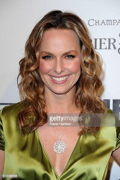 Actress Melora Hardin arrives at the 3rd Annual Women In Film PreOscar Party at a private residence in Bel Air on March 4 2010 in Los Angeles...