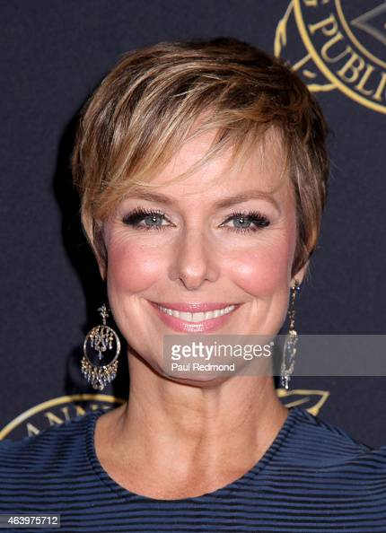 Actress Melora Hardin arrives at the 52nd Annual ICG Publicists Awards Luncheon at The Beverly Hilton Hotel on February 20 2015 in Beverly Hills...