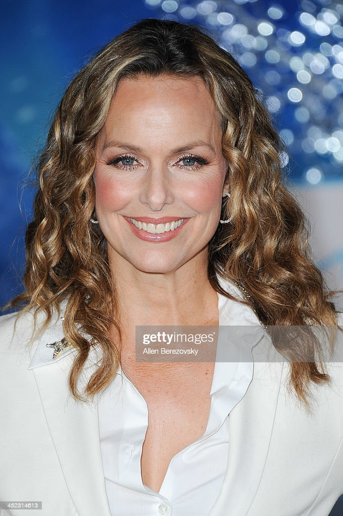Actress <a gi-track='captionPersonalityLinkClicked' href=/galleries/search?phrase=Melora+Hardin&family=editorial&specificpeople=233545 ng-click='$event.stopPropagation()'>Melora Hardin</a> arrives at the Los Angeles premiere of Disney's 'Frozen' at the El Capitan Theatre on November 19, 2013 in Hollywood, California.